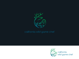 CALIFORNIA WILD GAME CHEF | Logo Design by ArtTank
