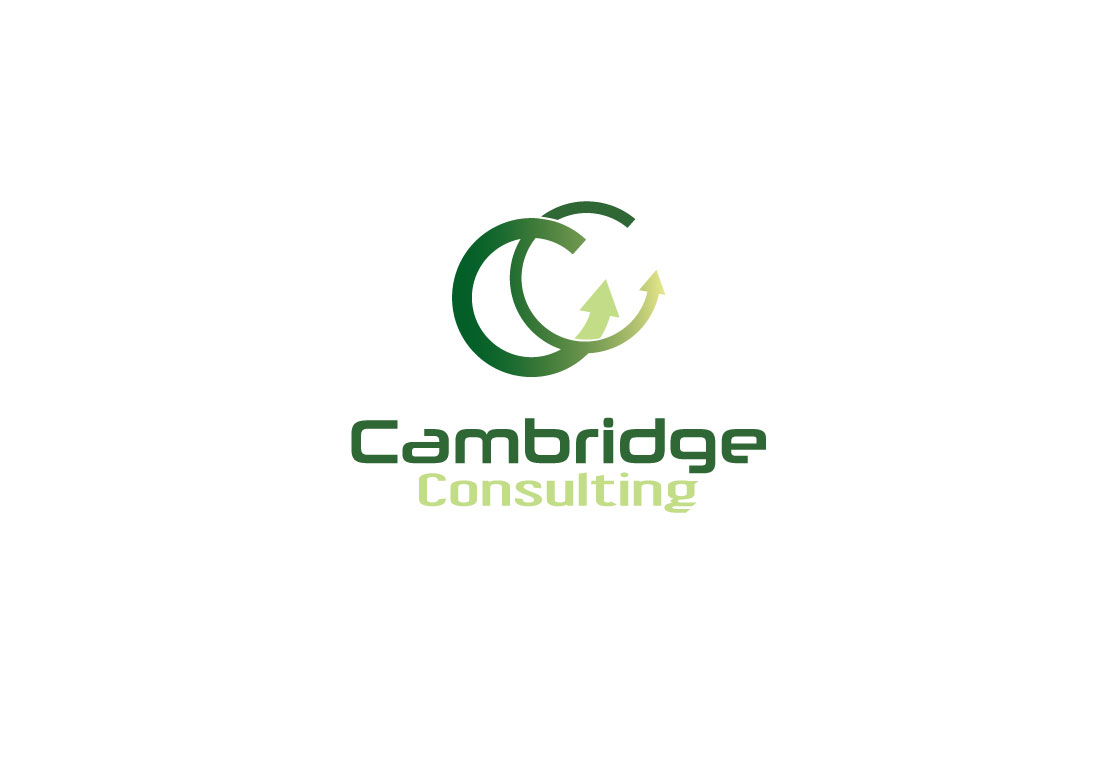 Modern Masculine Electronic Logo Design For Cambridge