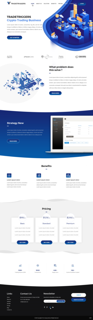 logo design crypto trading website how i get money online