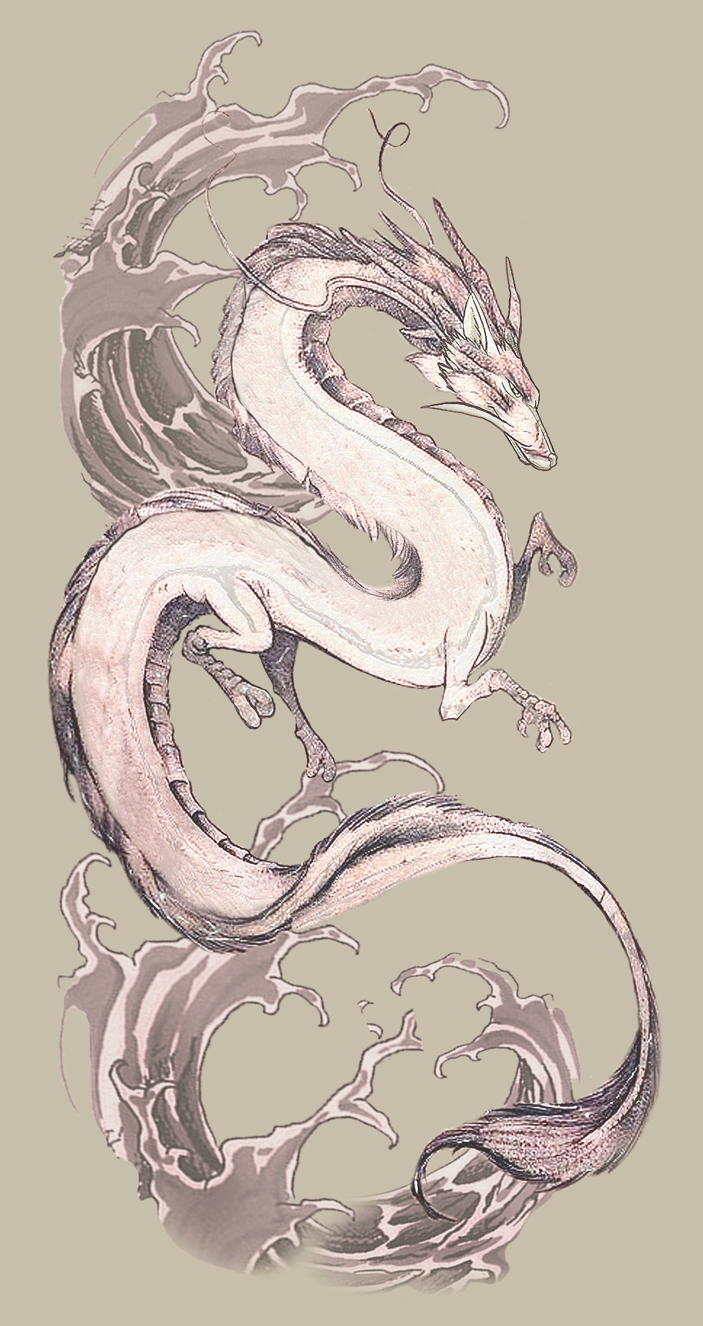 Dragon Haku From Spirited Away 5 Tattoo Designs For A Business In United States