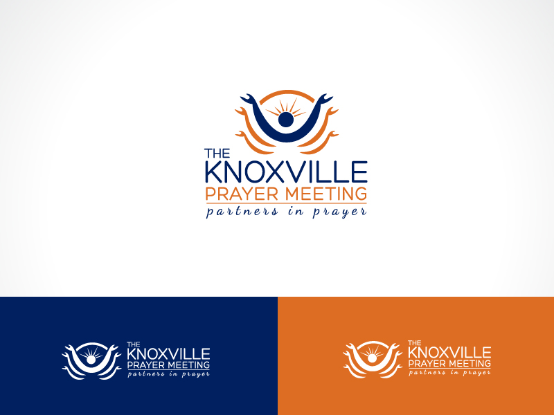 Christian Logo Design for The Knoxville Prayer Meeting  Partners in