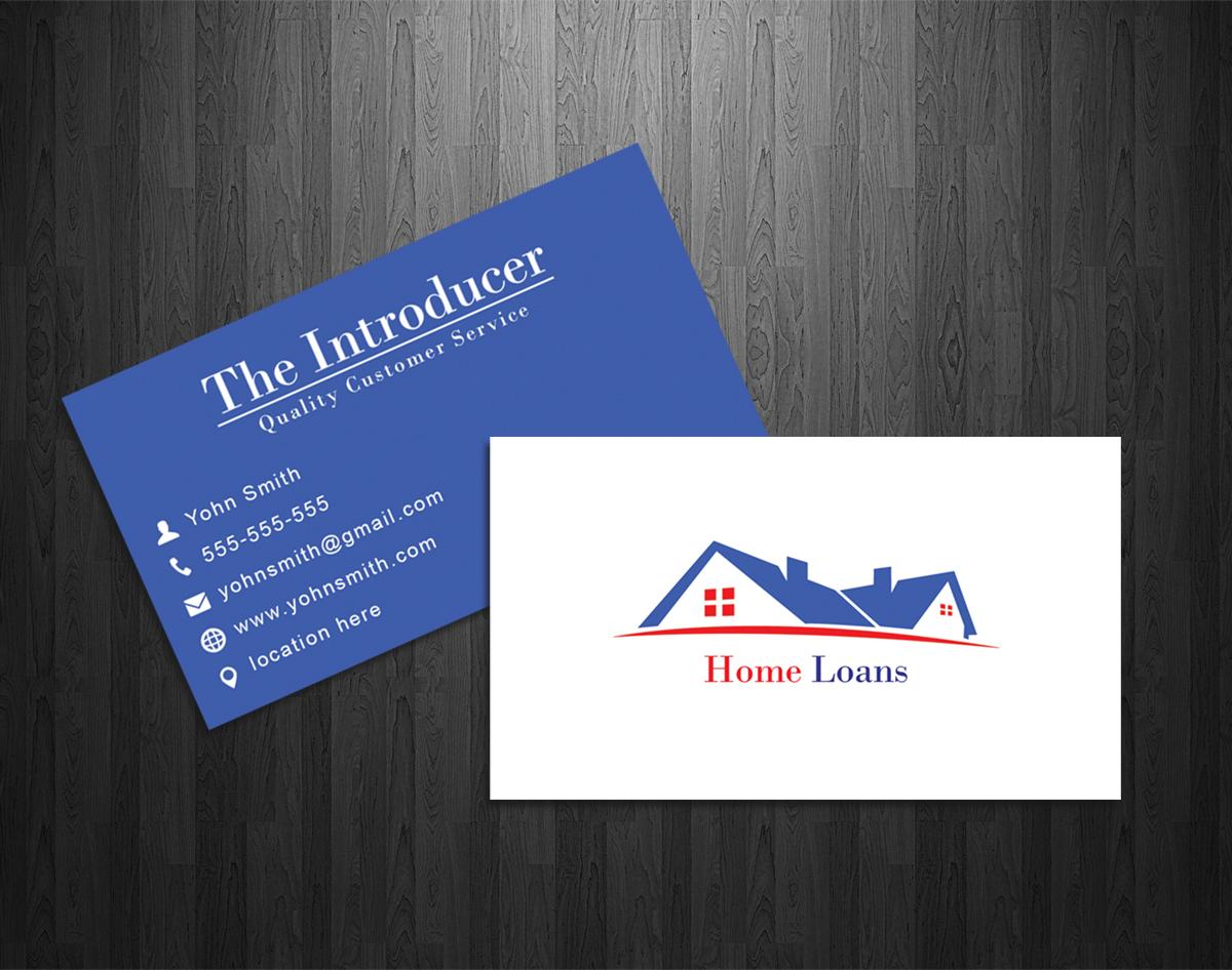 Modern, Upmarket, Loan Business Card Design for a Company by Stefan | Design #2988816