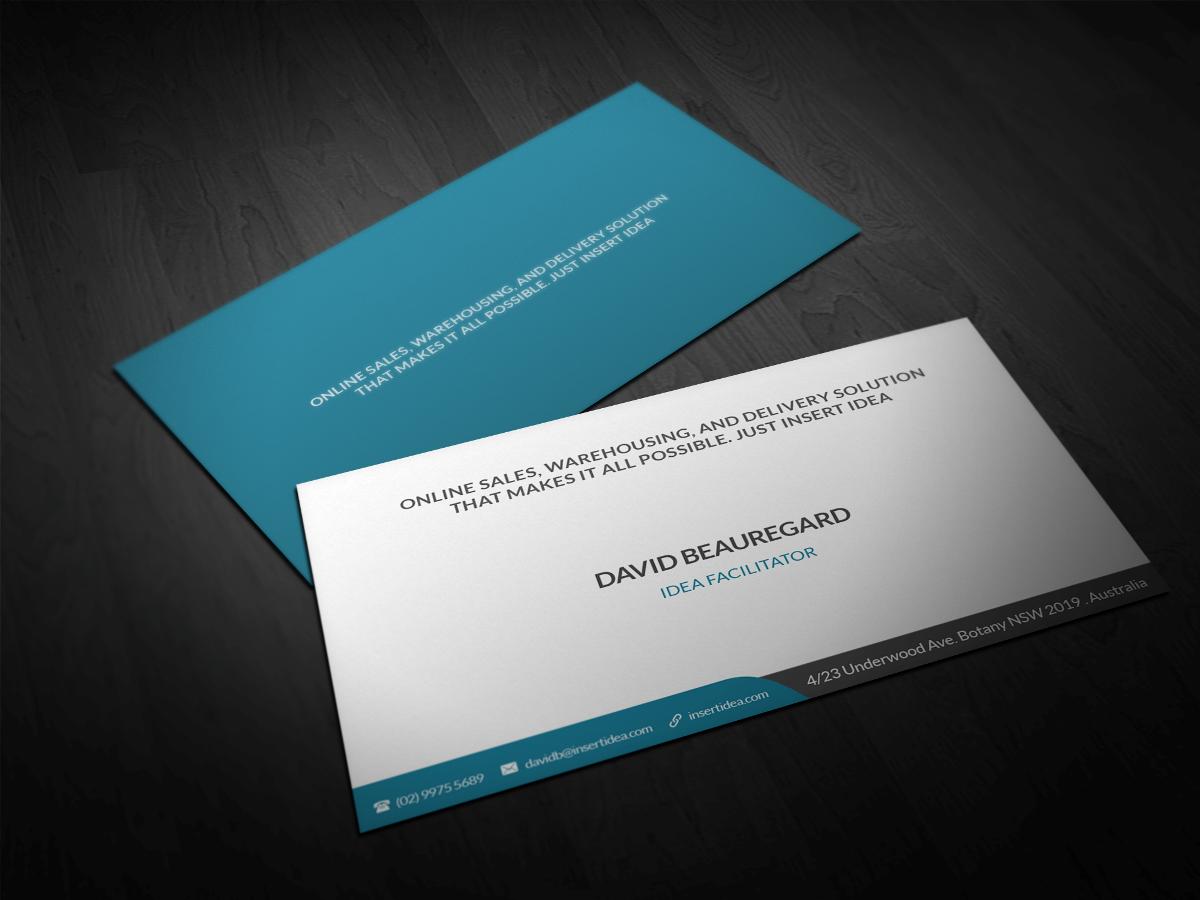 Bold Modern Business Card Design For A Company In Australia 3005141