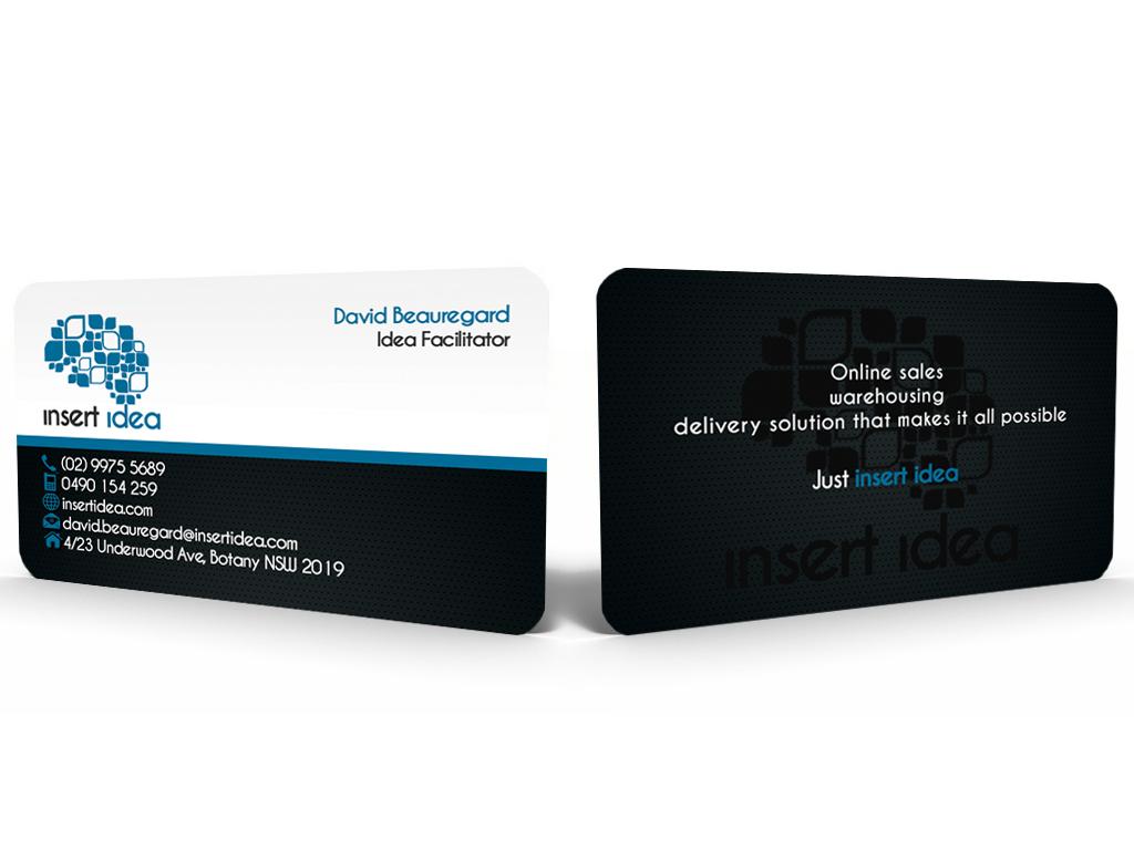 Bold modern business card design for matthew beauregard by business card design by hardcore design for new business card for online saleswarehousing magicingreecefo Gallery