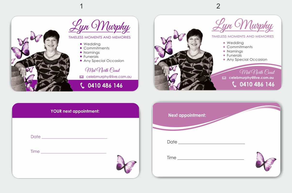 Business Card Design For Timeless Moments And Memories By Inesero Design 2986378
