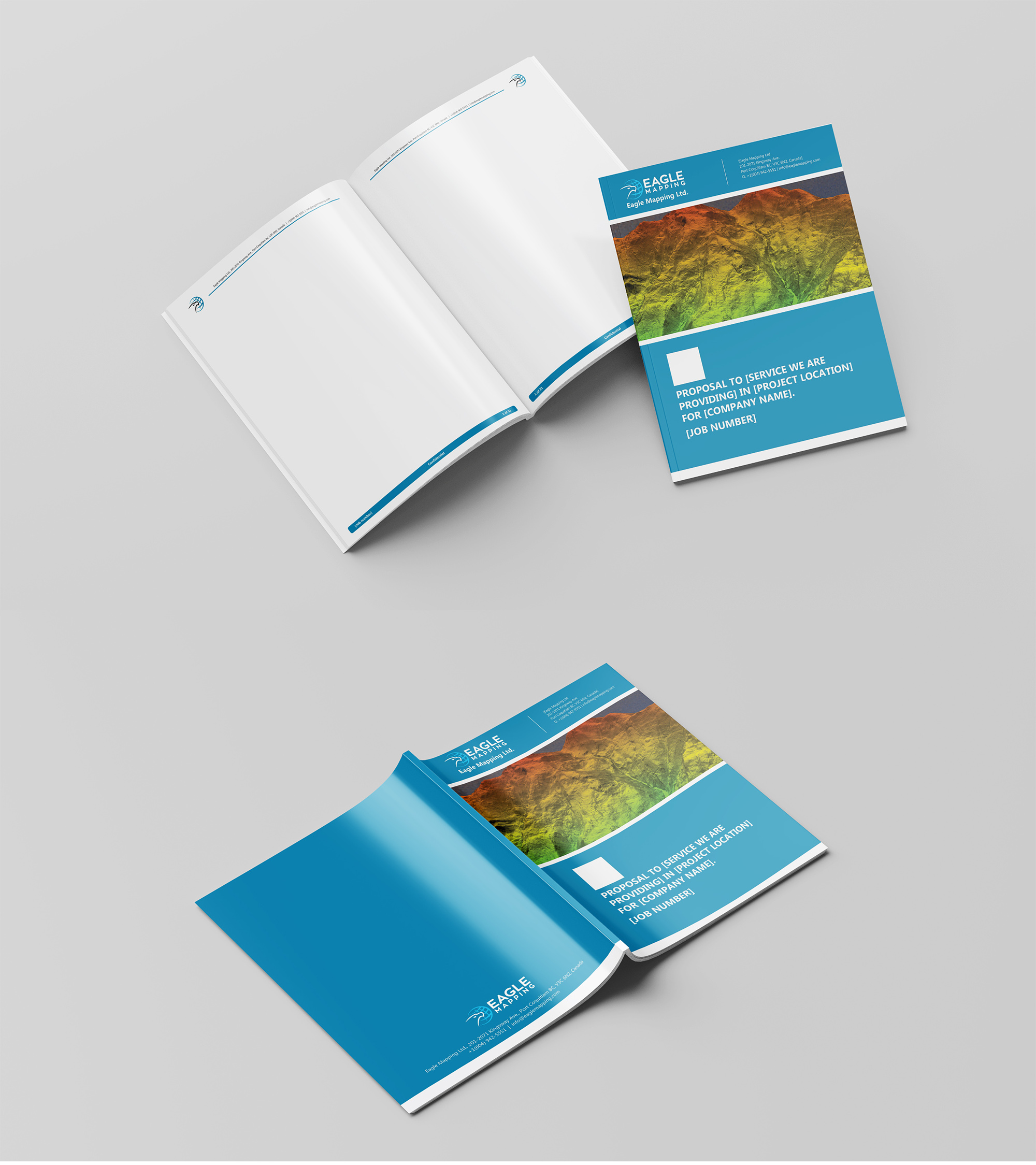 Professional Modern Word Template Design Job Word Template Brief For Eagle Mapping Ltd A Company In Canada