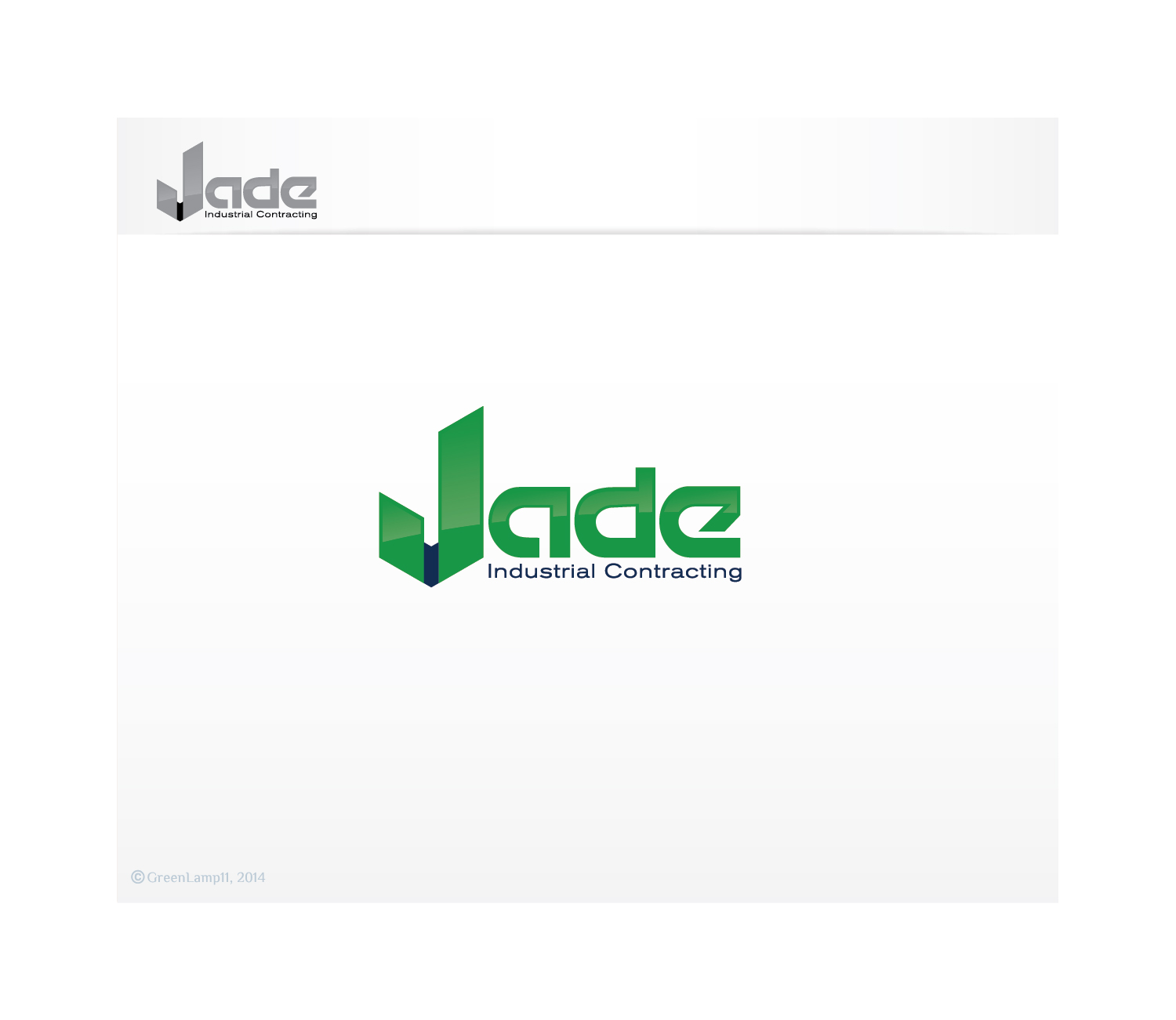 Industrial logo design for jade industrial contracting by for Industrial design company