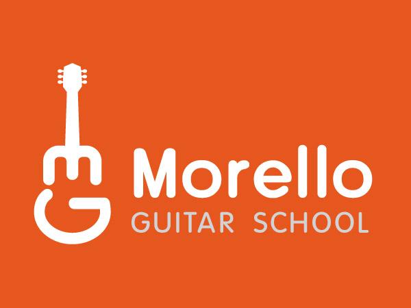 logo design for morello guitarschool by goh