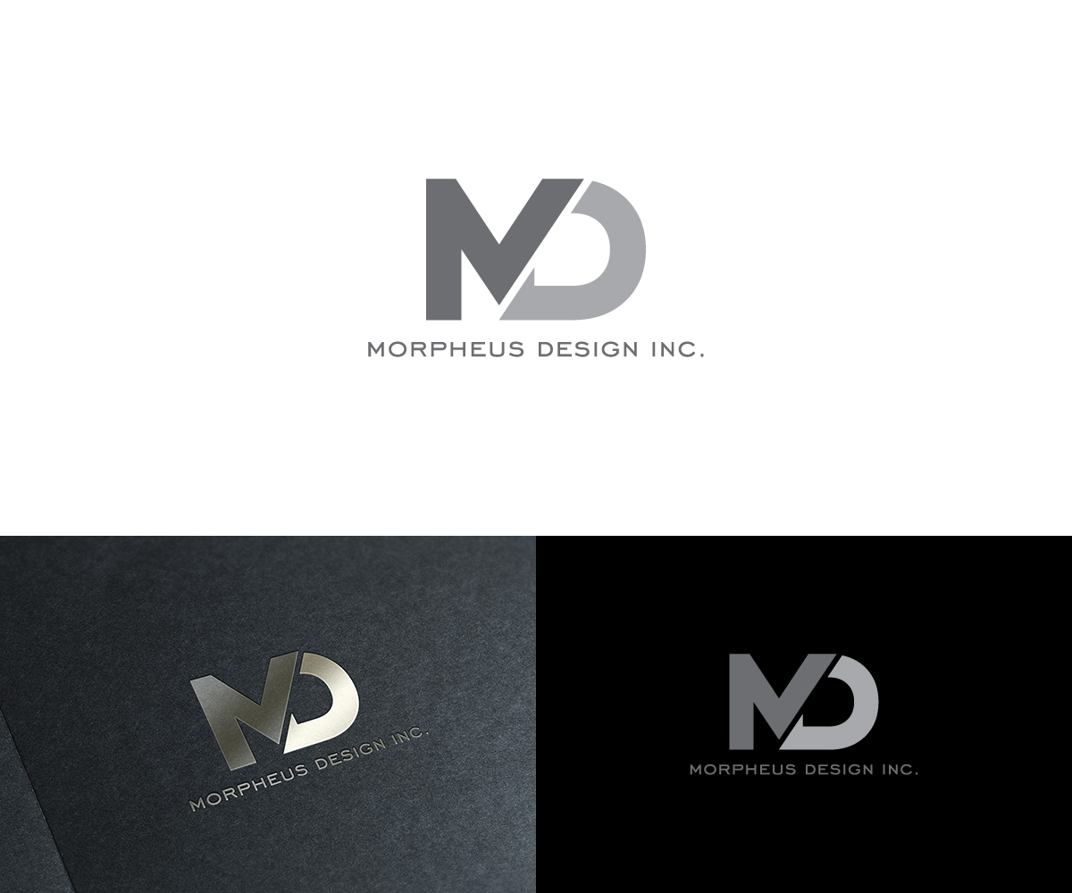 Building logo design for morpheus design inc in the for Design company