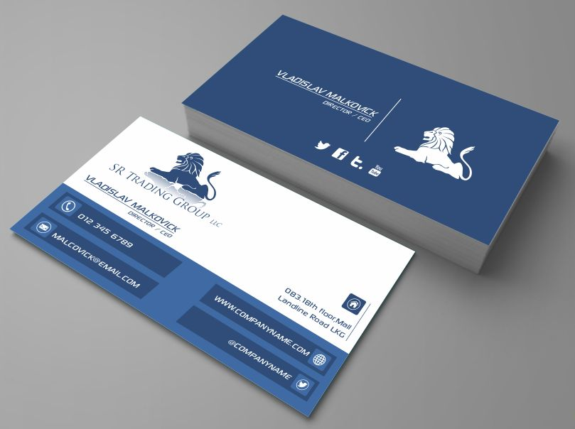 Elegant, Professional, Business Business Card Design for Seriously ...