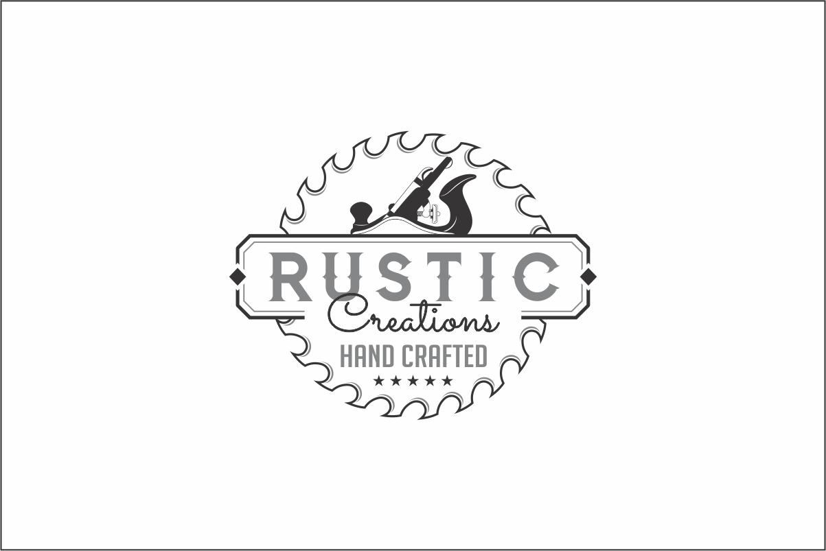 Elegant Playful Logo Design For Company Name Rustic Creations