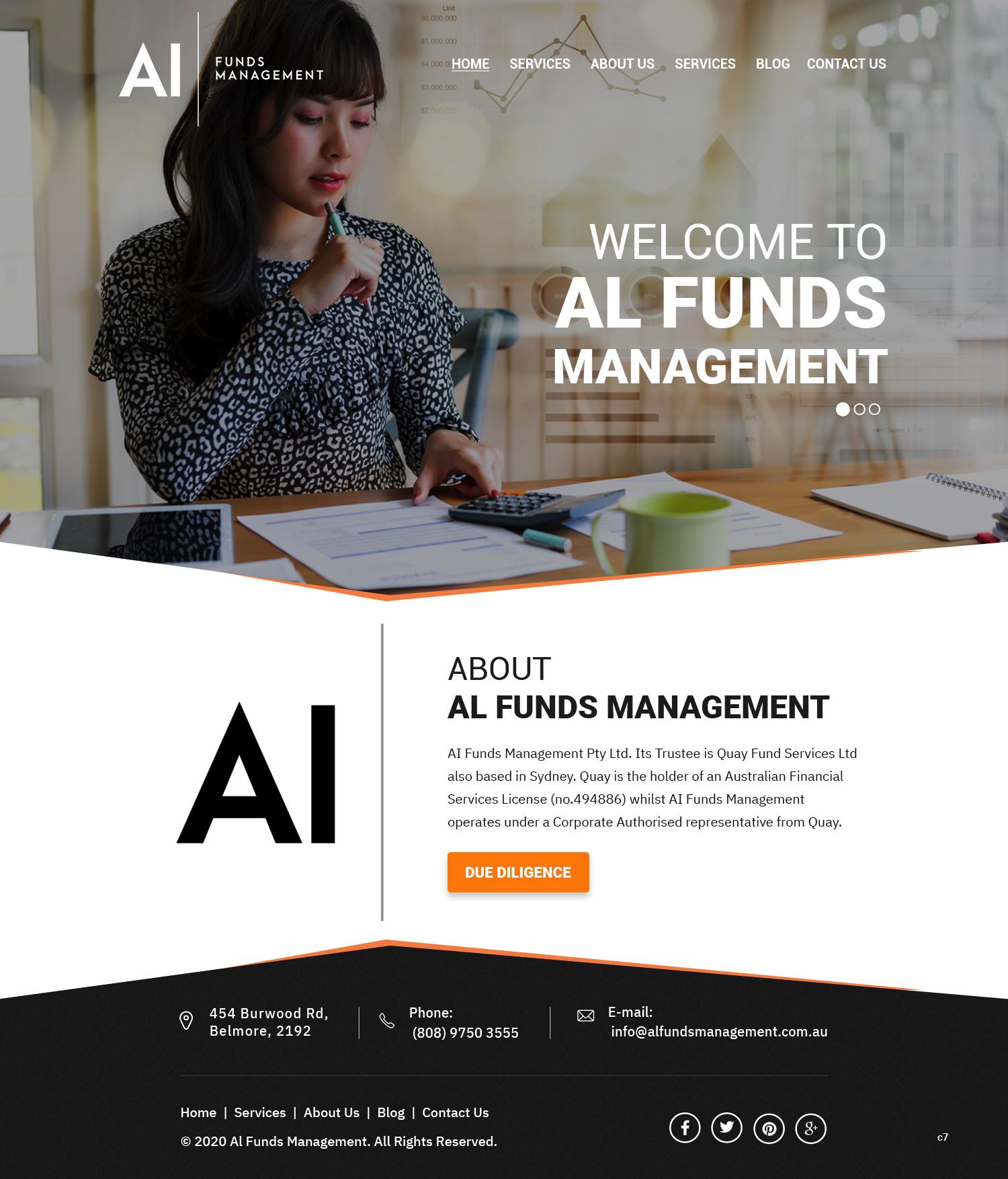 Web Design For A Company By Pb Design 23635073