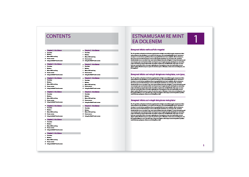 modern professional software brochure design for e learn as by