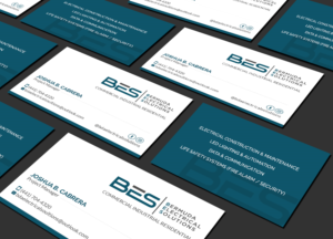 Electrical Business Cards 464 Custom Electrical Business Card Designs