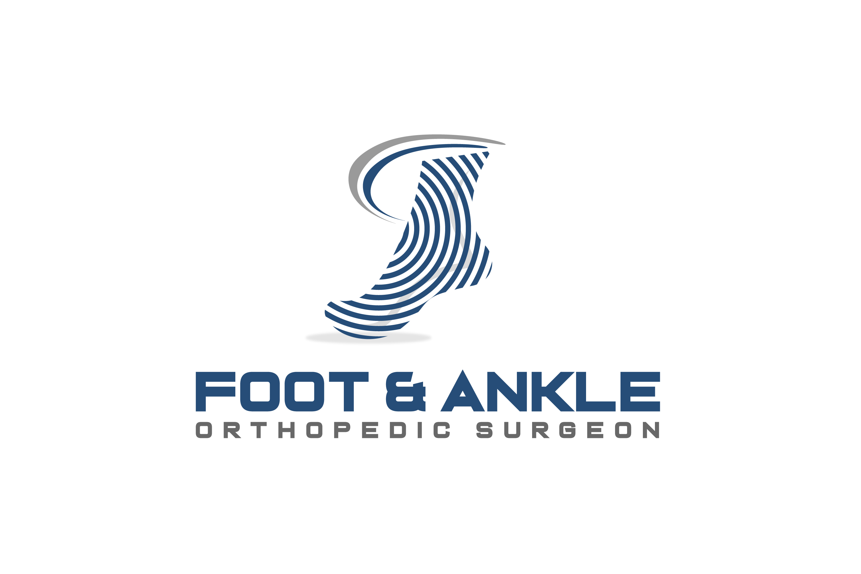 Logo Design For Foot Amp Ankle Orthopedic Surgeon By Graphicholedesign Design 23743495