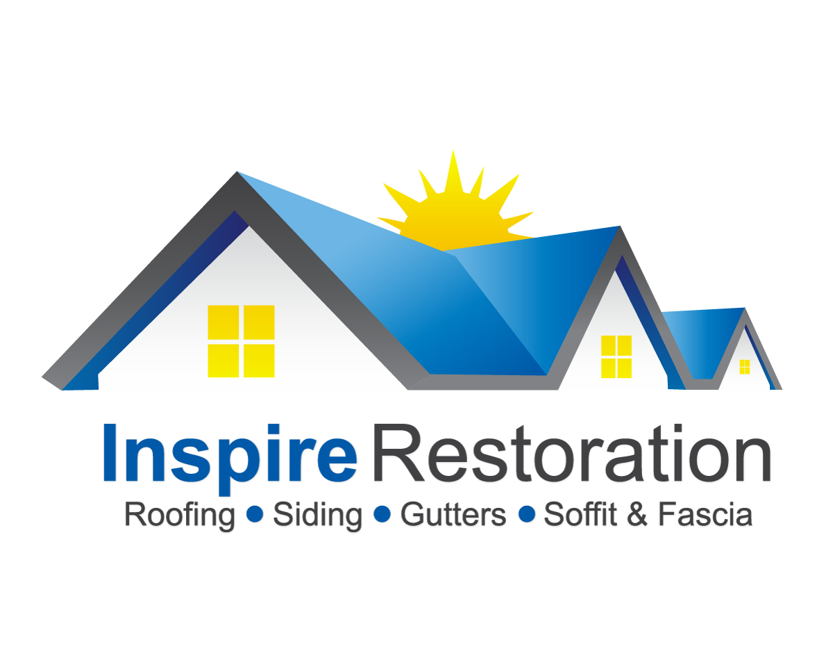 Logo design for inspire restoration by red attire designs for House design company