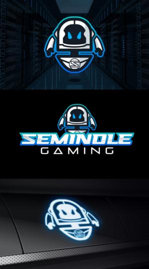 Seminole Gaming, EST 2018,  Boutique Gaming Computers | Logo Design by Sergio Coelho