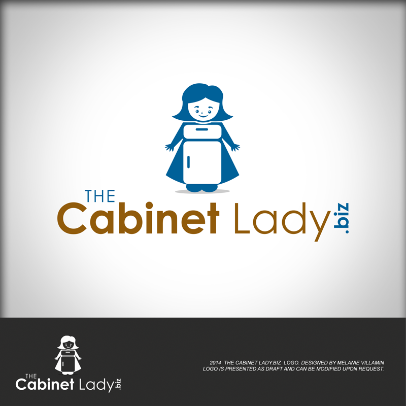 Playful, Personable Logo Design for The Cabinet Lady / EHR ...