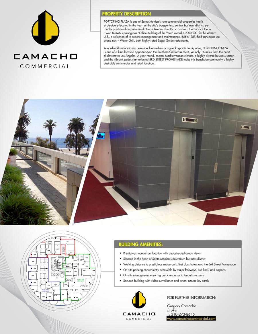 bold modern flyer design for camacho commercial real estate flyer design by one day graphics for commercial real estate company needs an awesome flyer design