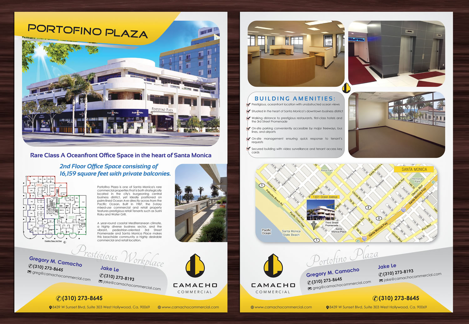 bold modern flyer design for camacho commercial real estate flyer design by smart for commercial real estate company needs an awesome flyer design for their