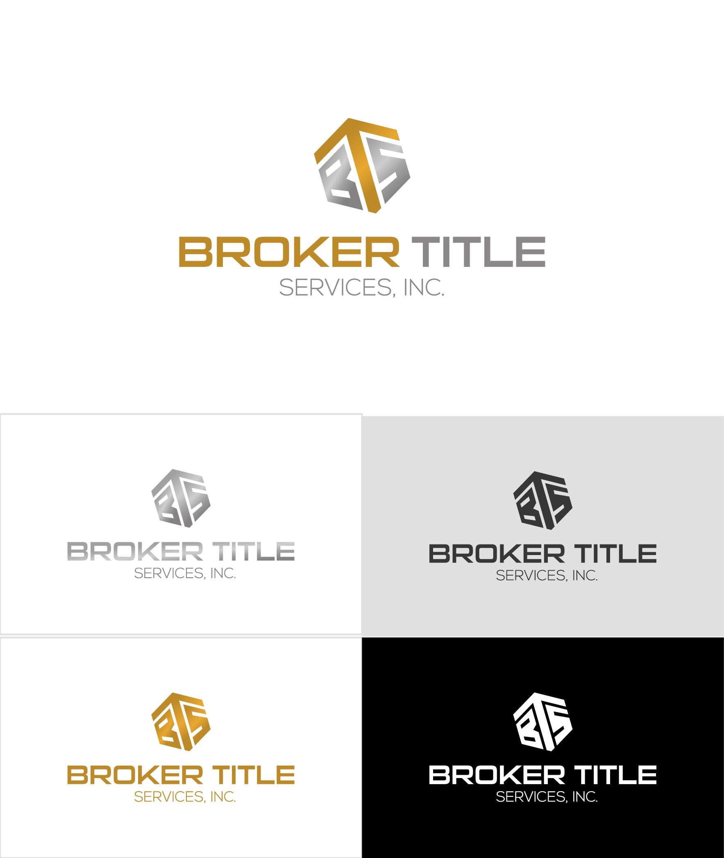 Elegant Upmarket Logo Design For Broker Title Services Inc By Anton Design 23833511