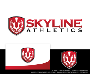 """The logo can contain the word """"Skyline"""" or not. 
