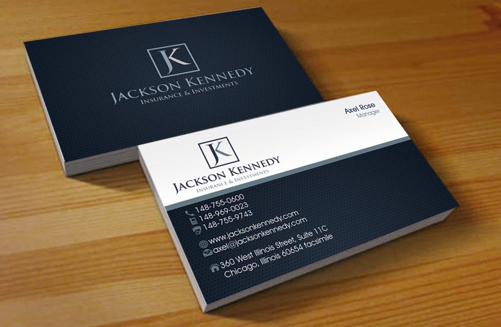 Insurance Advisor Business Card