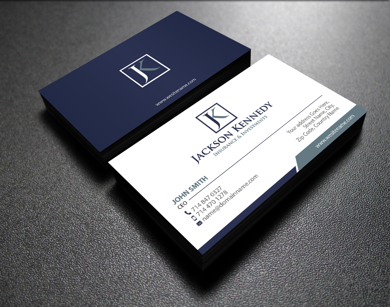 Serious, Professional Business Card Design for Aaron Wooster by ...