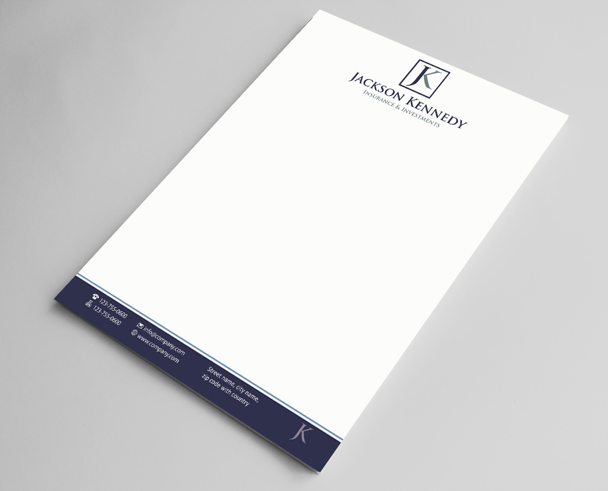 31 serious letterhead designs investment letterhead design project