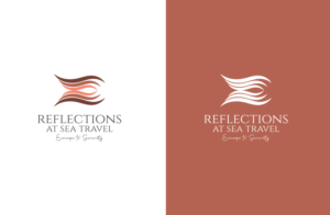 """""""Reflections at sea Travel"""" ; """" Escape to Serenity"""" 