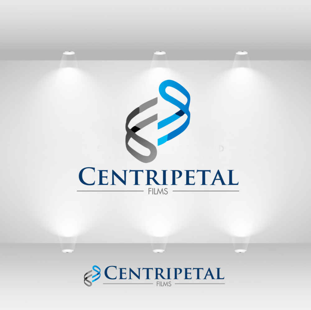 modern masculine film production logo design for could use with or without name centripetal films current logo attached by hippamsat design 24072171 designcrowd
