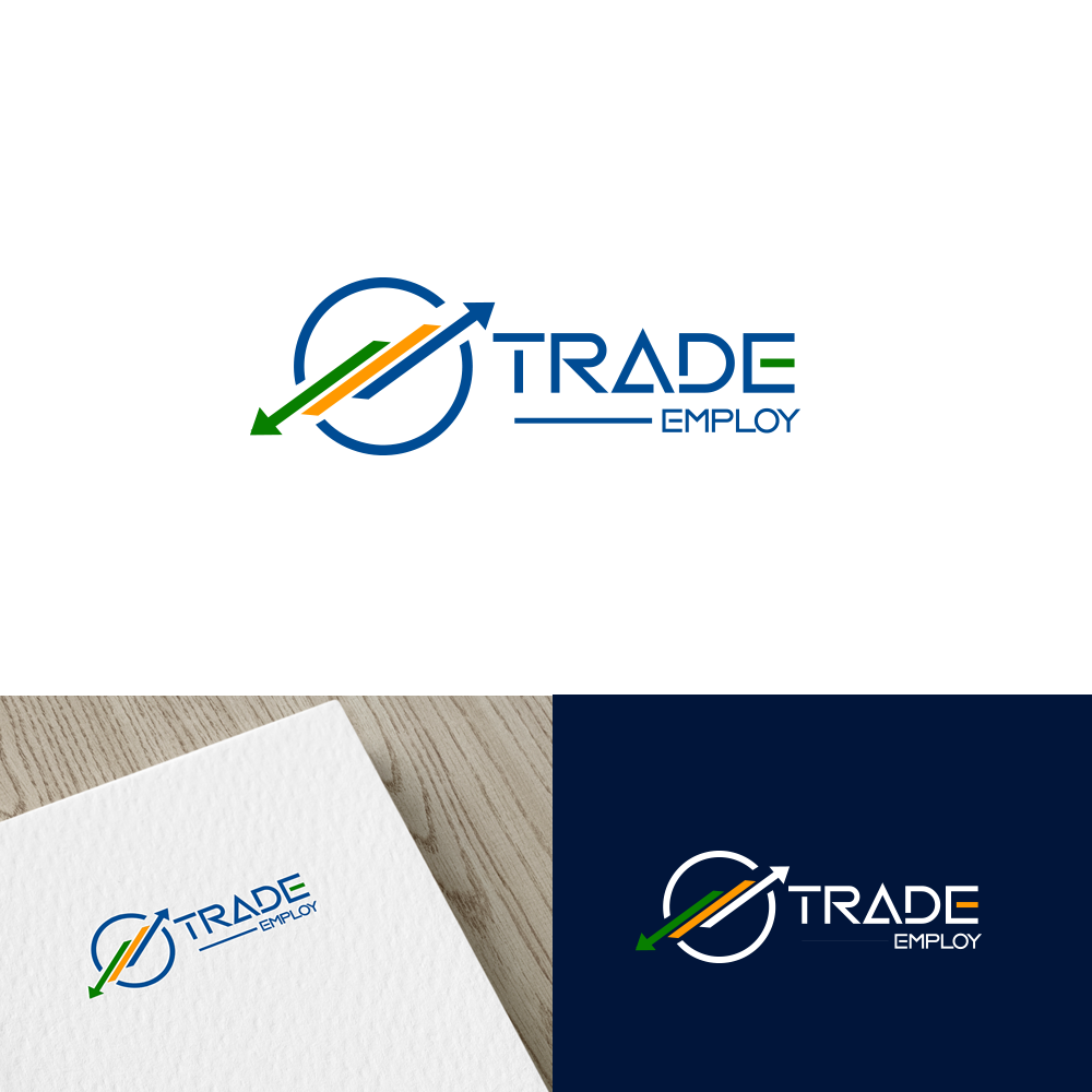 Bold, Modern, Construction Logo Design for TRADE EMPLOY by ...