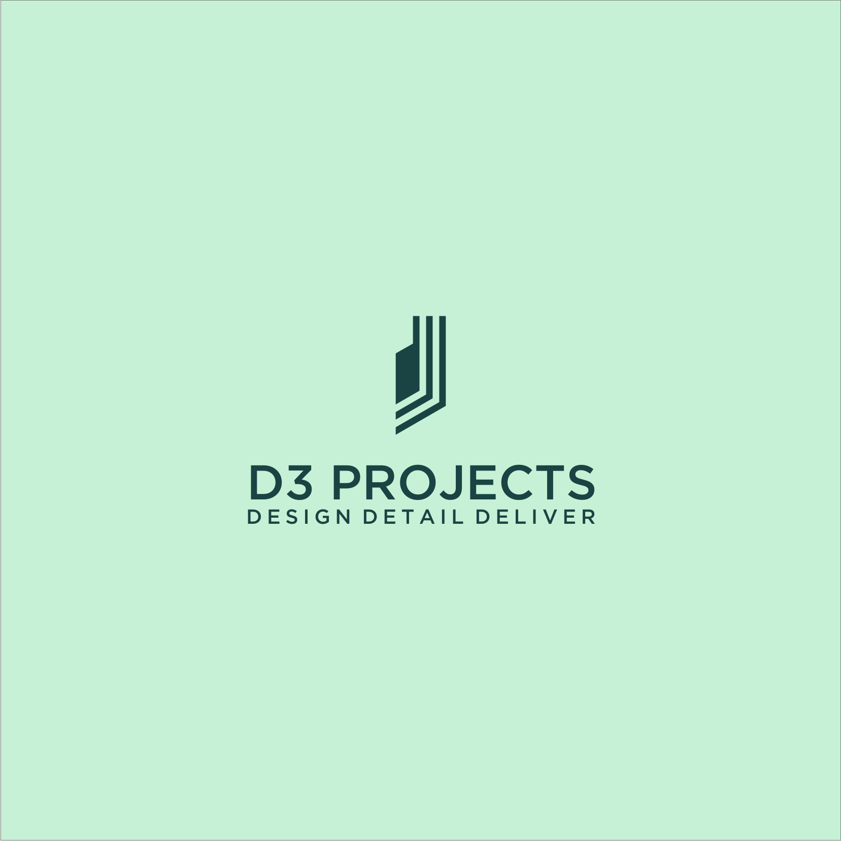 Professional Masculine Interior Design Logo Design For D3 Projects Company Name Design Detail Deliver Is Our Slogan By Ikha Asrhy Design 24058181