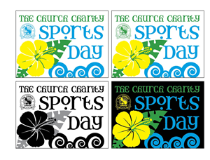 Logo Design by Jmvelez - Logo for Social Sports day with Hawaiian Luau