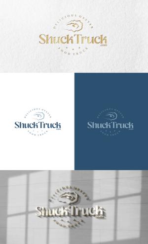 Shuck Truck (also add ShuckTruck.com) | Logo Design by GLDesigns