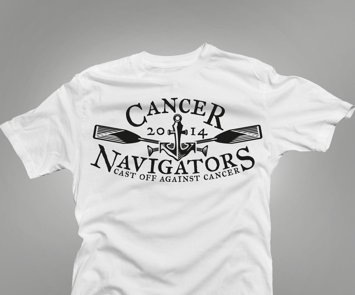Playful Personable Medical T Shirt Design For Cancer Navigators By