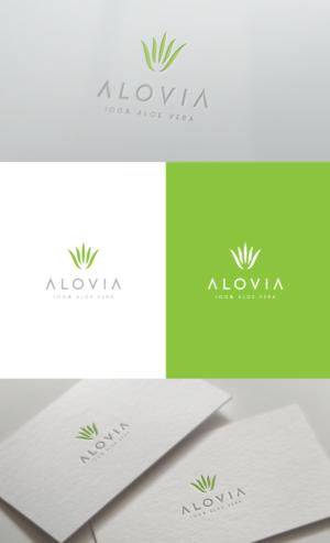 Alovia | Logo Design by GLDesigns