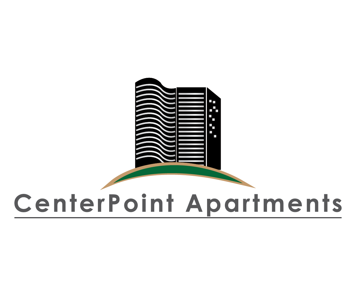 Logo Design For CenterPoint Apartments By Chunt