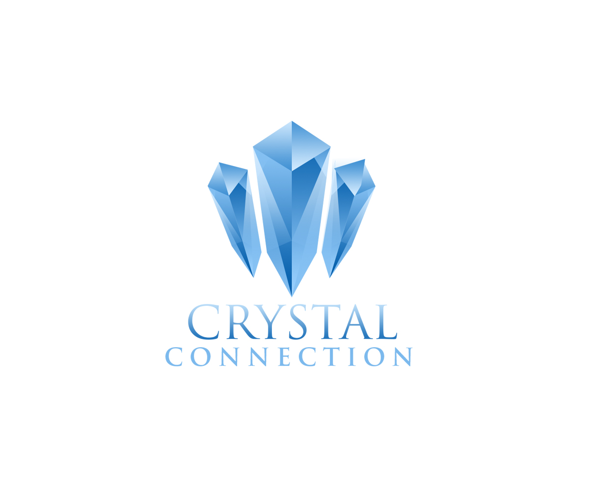 upmarket  elegant logo design for crystal connection by Business Card Graphics Small Business Clip Art