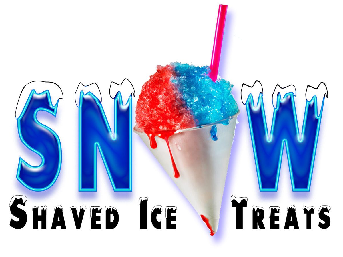 Personable Colorful Business Logo Design For Snow Go Shave Ice