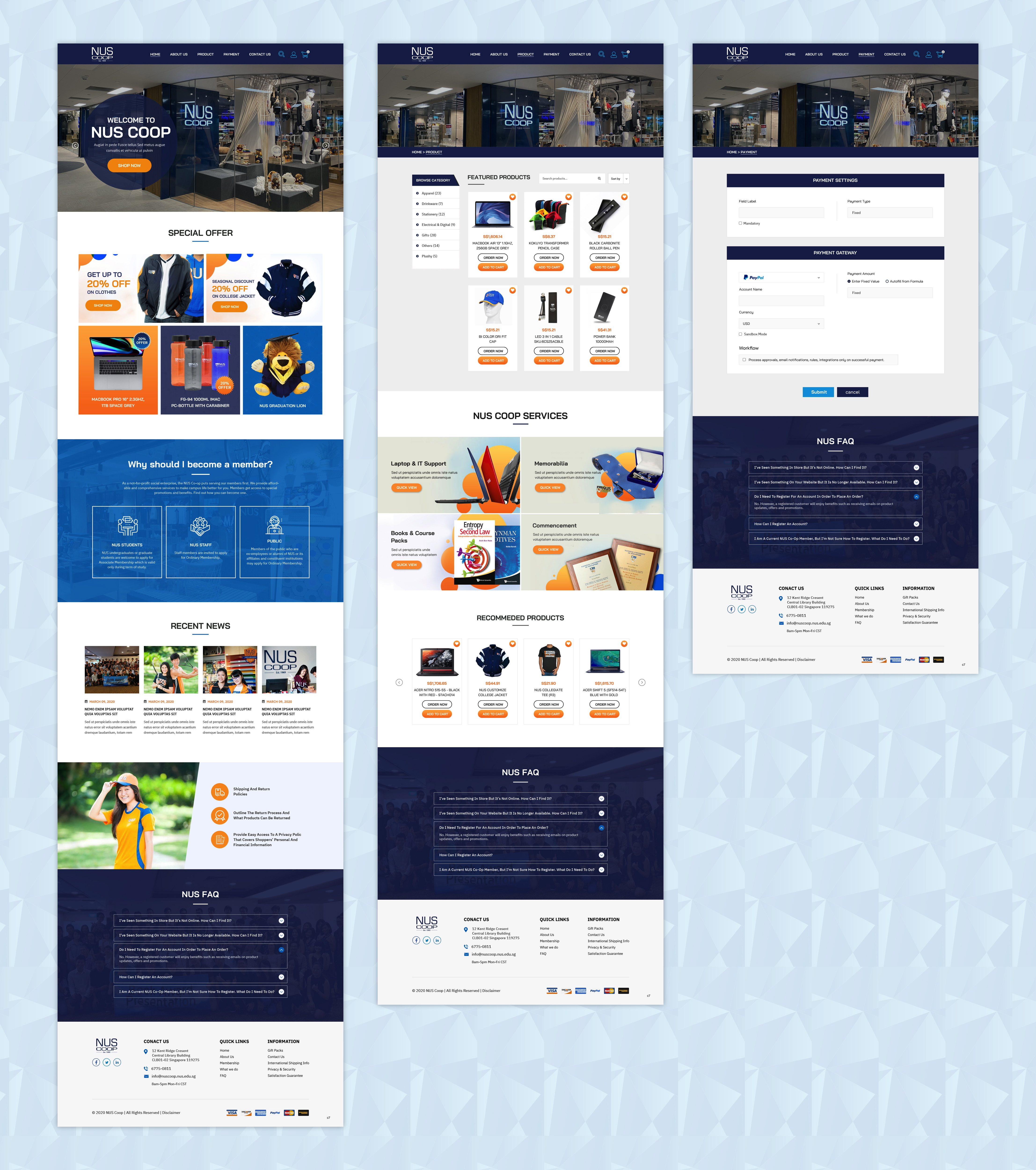 Professional Modern Web Design For A Company By Pb Design 24549574