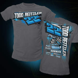 Todd Reitzler Race Shirts | T-shirt Design by EzaiLX