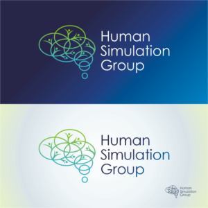 Human Simulation Group | Logo Design by Kreative Fingers