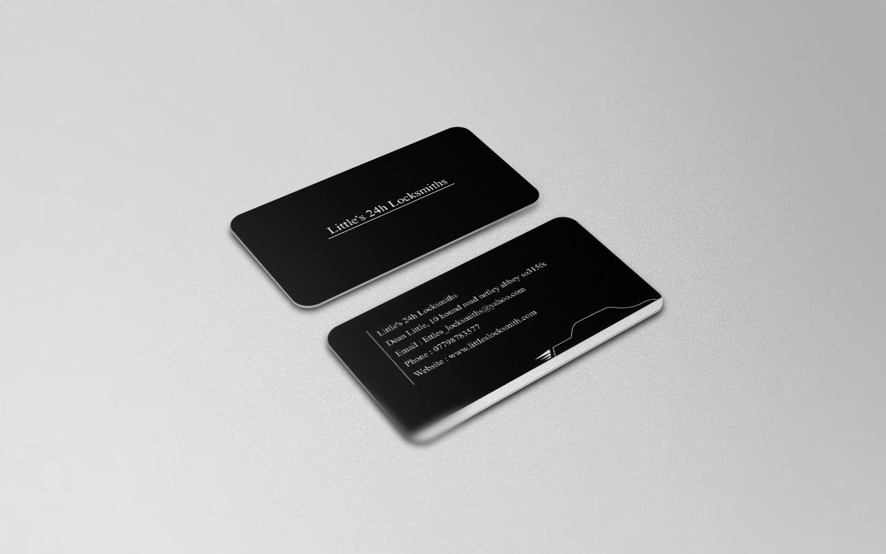 Bold, Serious Business Card Design for dean little by Attaf Othman ...