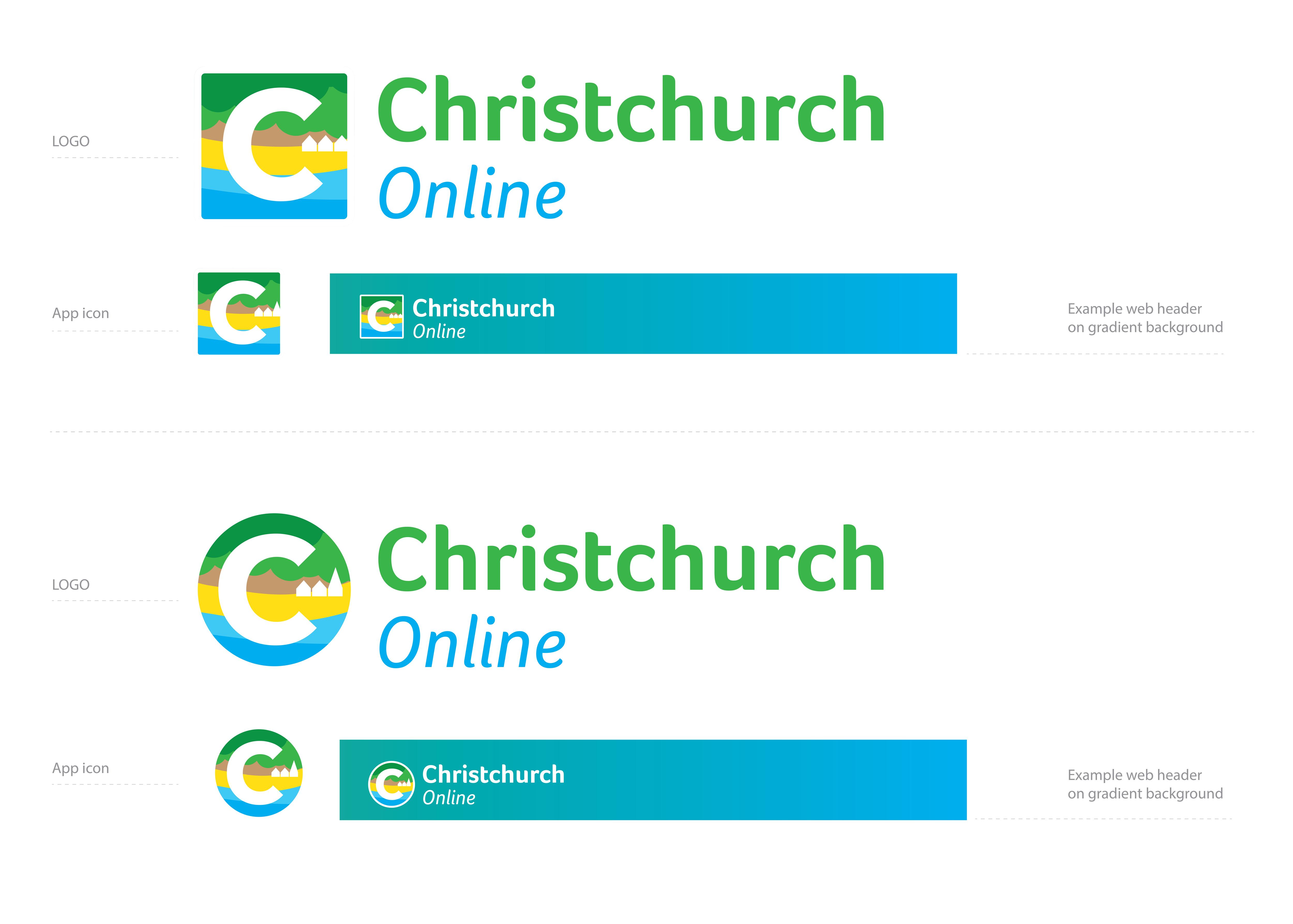 Colorful Playful App Icon Logo Design For Christchurch Online By Jane Designs Design 24673402