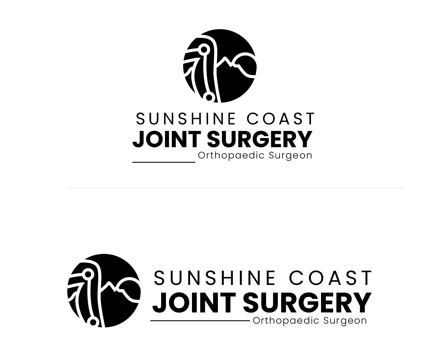 Serious Professional Healthcare Logo Design For Sunshine Coast Joint Surgery Or Scjs By Purveshjain Design 24732951