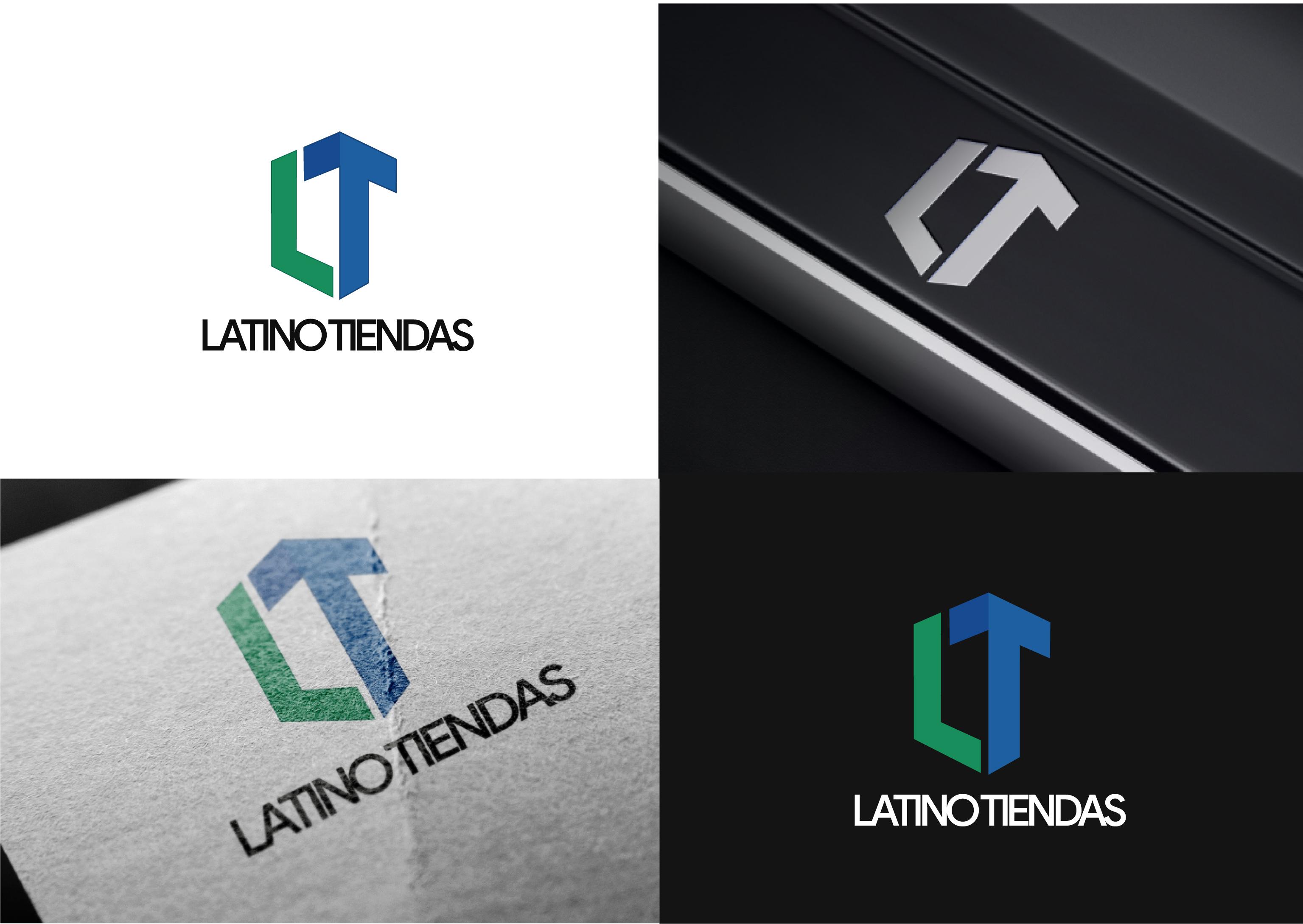Modern Upmarket Ecommerce Logo Design For Latinotiendas By Javed Iqbal Design 24699950