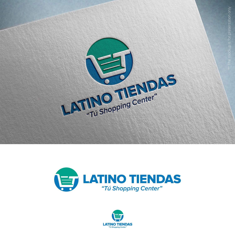 Modern Upmarket Ecommerce Logo Design For Latinotiendas By Sez Inn Design 24702272