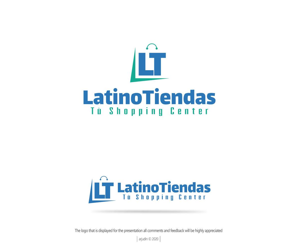 Modern Upmarket Ecommerce Logo Design For Latinotiendas By Arjuna Design Design 24701477