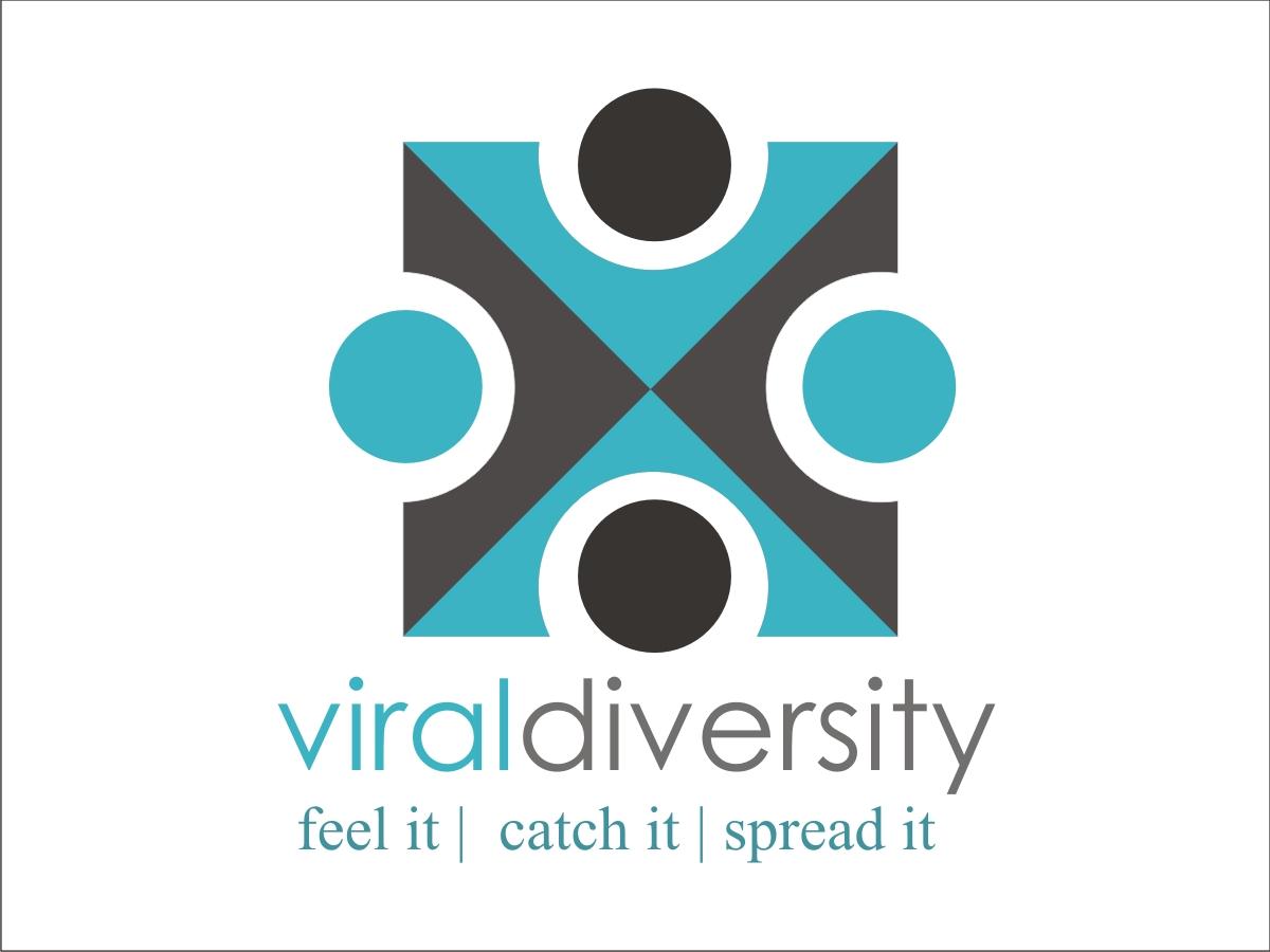 Logo Design job – viral diversity logo – Winning design by arpan sarkar